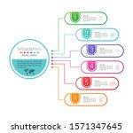infographics design vector and... | Shutterstock .eps vector #1571347645