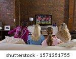 Young Women Watching Women\'s...