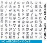 100 webdesign icons set....