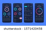 modern infographic vector...   Shutterstock .eps vector #1571420458