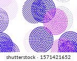 light purple  pink vector... | Shutterstock .eps vector #1571421652