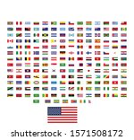 world flags illustration vector.... | Shutterstock .eps vector #1571508172