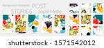 creative backgrounds for social ... | Shutterstock .eps vector #1571542012