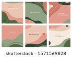 vector set of abstract creative ... | Shutterstock .eps vector #1571569828