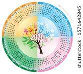Four Season Circle Calendar...