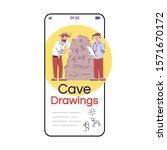 cave drawings social media...