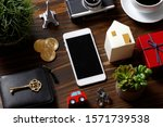 smartphone and many...   Shutterstock . vector #1571739538