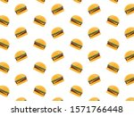 Delicious Burger Pattern For...