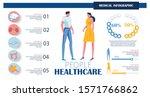 couple standing flat cartoon...   Shutterstock .eps vector #1571766862