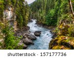 waterfall and river views of...   Shutterstock . vector #157177736
