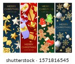 Merry Christmas Postcard Set...
