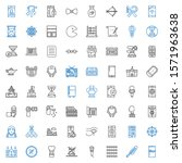 old icons set. collection of...   Shutterstock .eps vector #1571963638