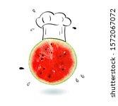 creative idea layout fresh... | Shutterstock . vector #1572067072