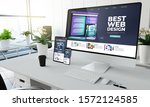 web design website screen...