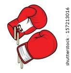 boxing glove   Shutterstock .eps vector #157213016