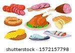 grocery store  shop assortment...   Shutterstock .eps vector #1572157798