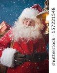 Photo Of Happy Santa Claus...