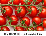Fresh Tomato Full Frame Image...