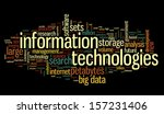 information technology concept... | Shutterstock . vector #157231406