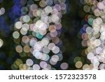 pink  gold and blue christmas... | Shutterstock . vector #1572323578