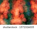 orange  red and green christmas ... | Shutterstock . vector #1572326035