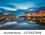 Helsinki  Finland. View Of...