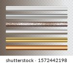 pipe set isolated on... | Shutterstock .eps vector #1572442198
