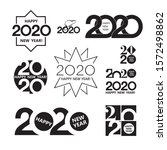 collection of 2020 text design. ...   Shutterstock .eps vector #1572498862