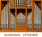 Beautiful Wood Organ Detail