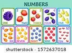 cartoon berries and fruits....   Shutterstock .eps vector #1572637018