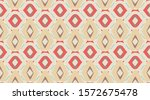 red pattern background.... | Shutterstock .eps vector #1572675478