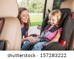 mother takes care about her... | Shutterstock . vector #157283222