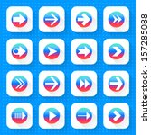 16 arrow icon set 03  gradient...