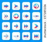 16 arrow icon set 02  gradient...