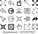 pointer vector icon set such as ...