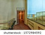 latvia  riga 01.01 2016 the... | Shutterstock . vector #1572984592