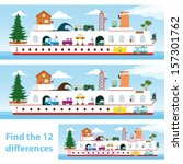 two vector versions of a kids... | Shutterstock .eps vector #157301762