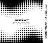 abstract halftone background ... | Shutterstock .eps vector #157303262