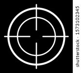 military aiming circle vector... | Shutterstock .eps vector #1573102345