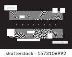 abstract horizontal landing...