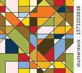 vivid contemporary abstract... | Shutterstock .eps vector #1573203838