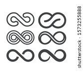 infinity symbol. vector logos...   Shutterstock .eps vector #1573255888