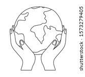 planet sphere design  continent ...   Shutterstock .eps vector #1573279405