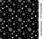 snowflakes and stars. perfect... | Shutterstock .eps vector #1573326508