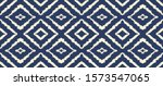 ikat geometric folklore... | Shutterstock .eps vector #1573547065