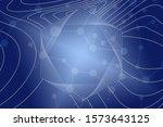 beautiful blue abstract... | Shutterstock . vector #1573643125