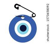 vector background of evil eye   ...   Shutterstock .eps vector #1573658092