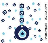 vector background of evil eye   ... | Shutterstock .eps vector #1573658095