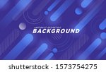 abstract geometric background... | Shutterstock .eps vector #1573754275