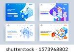 online pharmacy service concept ... | Shutterstock .eps vector #1573968802